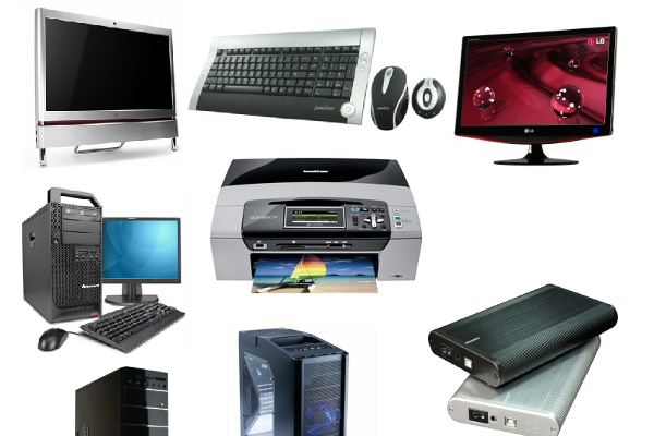 Vente de matériels informatiques